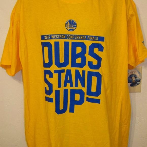 979d76576141 zoom Shirts | Dubs Stand Up 2017 Nba Champion T Shirt | Poshmark
